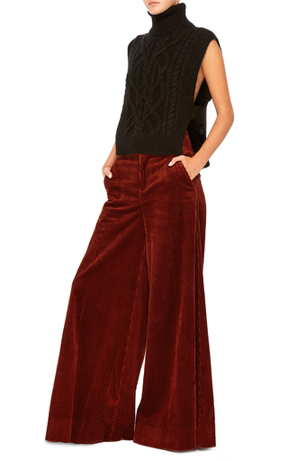 Wide Leg Corduroy Trouser by MARNI Now Available on Moda Operandi