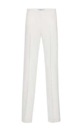 Medium blumarine white white slim pant