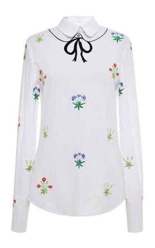 White Zucca Shirt by VIVETTA Now Available on Moda Operandi