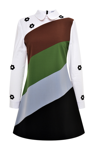 Medium vivetta black ranucolo dress