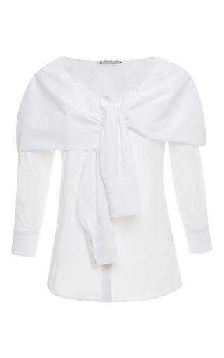 Medium vivetta white oleandro shirt
