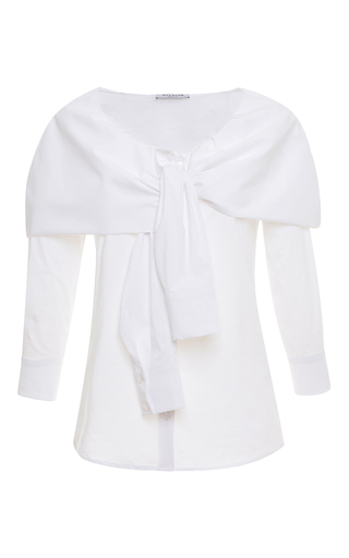 Medium vivetta white oleandro shirt