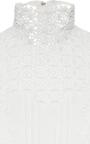 Silk Lace Magic Mushroom Blouse  by GIAMBATTISTA VALLI Now Available on Moda Operandi
