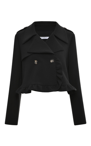 Medium vivetta black pesco jacket