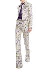 Whimsical Metallic Flared Pant by GIAMBATTISTA VALLI Now Available on Moda Operandi