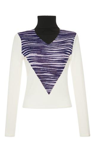 Medium giambattista valli white wool pullover