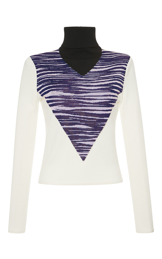 Medium giambattista valli white wool pullover