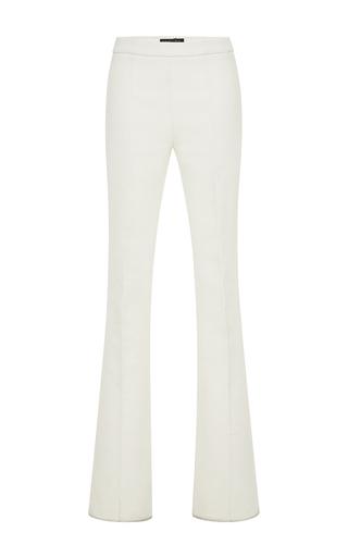 Medium giambattista valli white white flared cotton pant