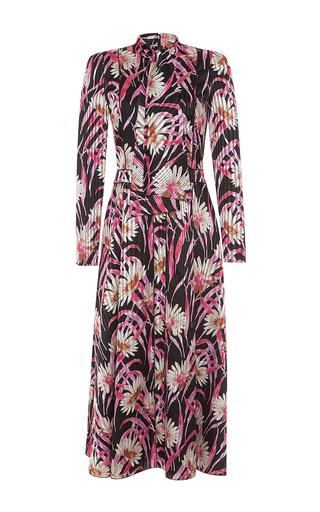 Medium giambattista valli floral whimsical silk float dress