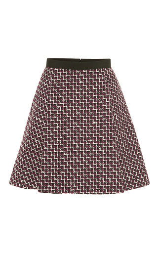 Medium giambattista valli multi wool mini skirt