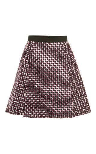 Medium giambattista valli multi wool mini skirt