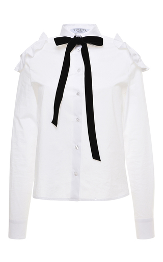 Medium vivetta white white pervinca shirt
