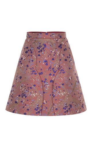 Medium giambattista valli purple whimsical mini skirt
