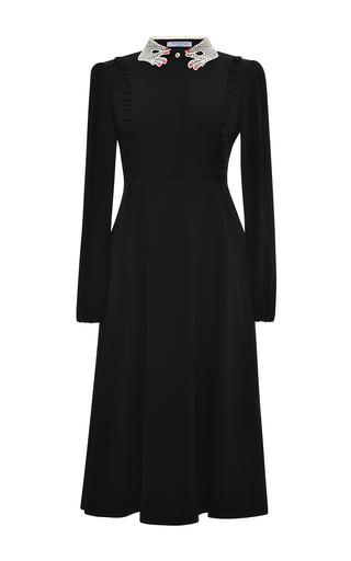 Medium vivetta black scilla midi dress