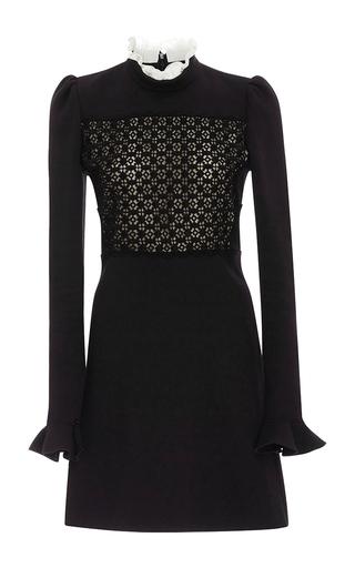 Medium giambattista valli black contrast panel dress
