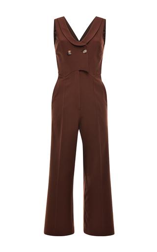 Medium vivetta brown cannella jumpsuit