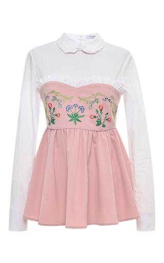 Medium vivetta light pink bergamotto blouse