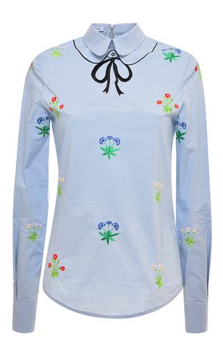 Medium vivetta light blue light blue zucca shirt