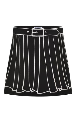 Medium vivetta black black albicocco skirt