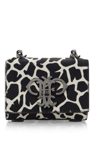 Medium emilio pucci multi calf hair shoulder bag