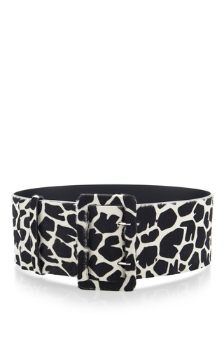 Medium emilio pucci multi calf hair belt