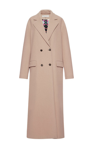 Medium emilio pucci brown camel double breasted cashmere wool coat
