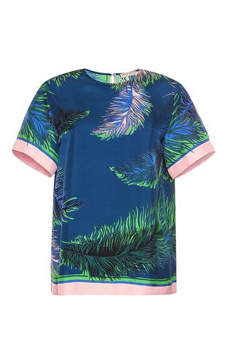 Medium emilio pucci blue silk t shirt