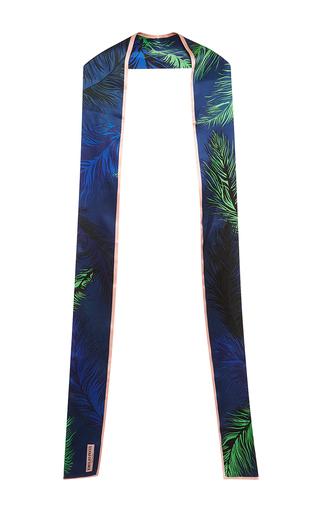Medium emilio pucci blue blue printed silk scarf