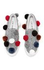 Pom Pom Sneakers by JOSHUA SANDERS Now Available on Moda Operandi
