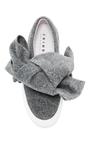 Bow Slip On Sneakers by JOSHUA SANDERS Now Available on Moda Operandi