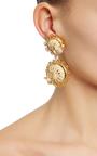 Wicker Inspired Drop Earrings by DOLCE & GABBANA Now Available on Moda Operandi