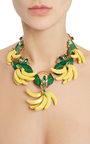 Resin Banana Necklace by DOLCE & GABBANA Now Available on Moda Operandi