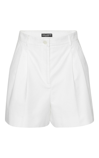 Medium dolce gabbana white high waisted shorts
