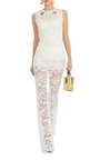 Bee Brooch Lace Top by DOLCE & GABBANA Now Available on Moda Operandi