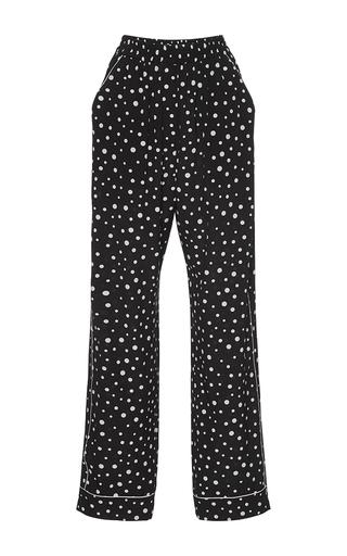 Medium dolce gabbana black white polka dot trousers