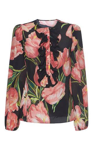 Medium dolce gabbana floral floral printed blouse