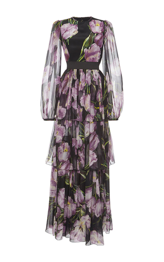 Medium dolce gabbana floral floral printed gown