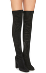 Suede Knee High Boots by DOLCE & GABBANA Now Available on Moda Operandi