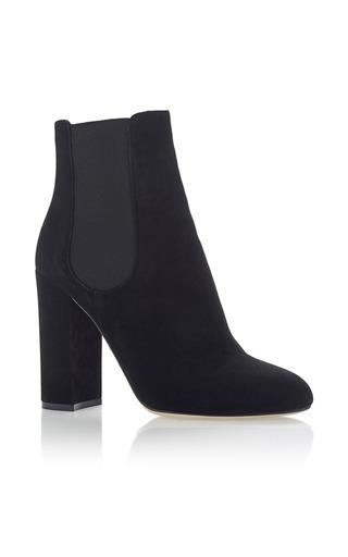 Medium dolce gabbana black suede ankle boots