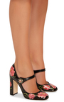 Floral Leather Mary Janes by DOLCE & GABBANA Now Available on Moda Operandi
