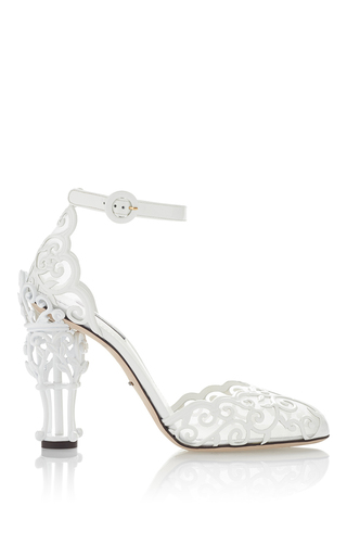 Trelis Detailed Sandals by DOLCE & GABBANA Now Available on Moda Operandi