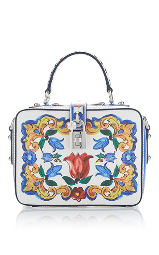 Medium dolce gabbana multi dauphine maiolica bag