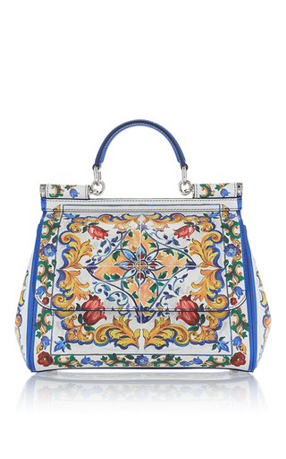 Medium dolce gabbana white dauphine medium tile bag