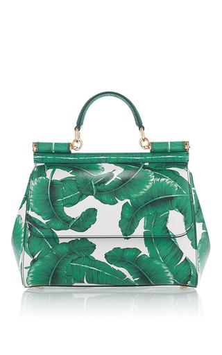 Medium dolce gabbana green dauphine medium palm bag