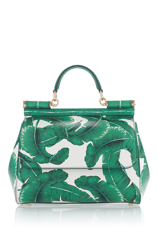 Medium dolce gabbana green dauphine medium palm bag