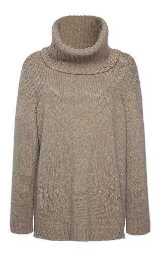 Medium agnona light grey eternal cashmere cowl neck