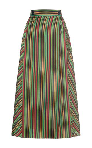 Medium marco de vincenzo multi silk a line skirt