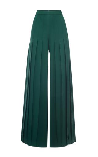 Medium marco de vincenzo dark green dark green high waist pleated pant