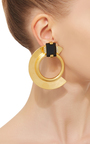 Metal And Stone Earrings by MARNI Now Available on Moda Operandi