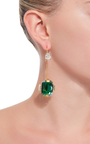 Spherical Strass Earrings by MARNI Now Available on Moda Operandi